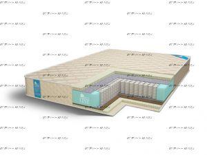 Матрас Medium-Soft S1000 Comfort Line
