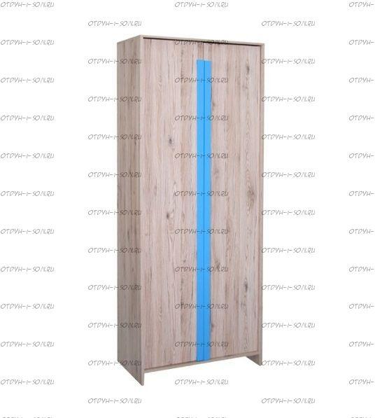 Шкаф 2-дверный Скаут (Детская)