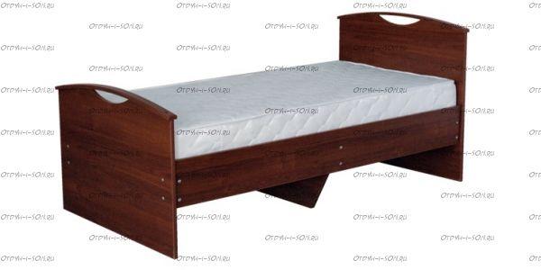 Кровать с основанием Людмила-9 (Детская)