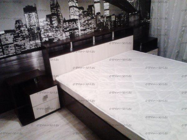 Кровать Саломея БК-1,6 (Спальня)