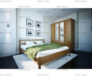 Кровать Троя 1 Массив DreamExpert
