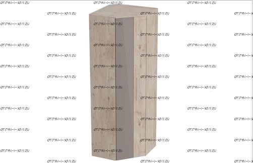 Шкаф угловой Фан (700х700х2100) (прихожая)