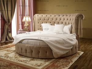 Кровать круглая Ceppi 901