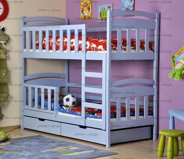 Кровать двухъярусная Скаут-2 Плюс