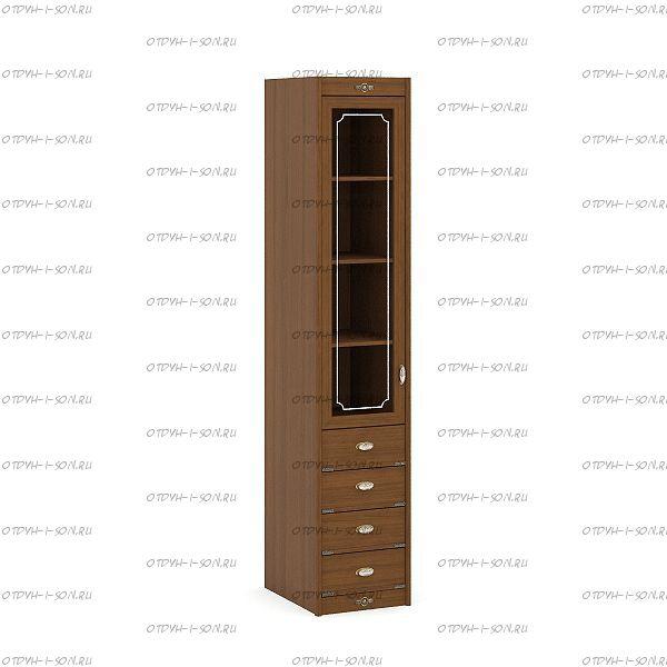 Шкаф 1-но дверный Корвет (52.201.05) 45х58х228