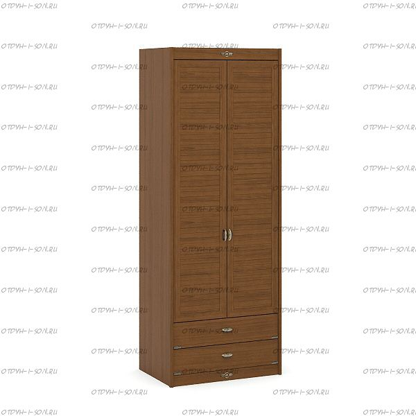 Шкаф 2-х дверный Корвет (52.202.02) 85х58х228