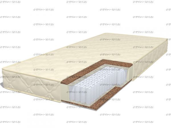 Матрас Dream 1 S1000 (с наматрасником) Дримлайн