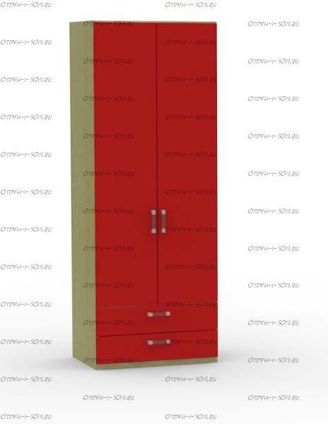 Шкаф двухдверный Teen`s Home (17.202.04) 80х56х216