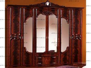 Шкаф 6-ти дверный Ольга Диа Мебель (275х60х241)