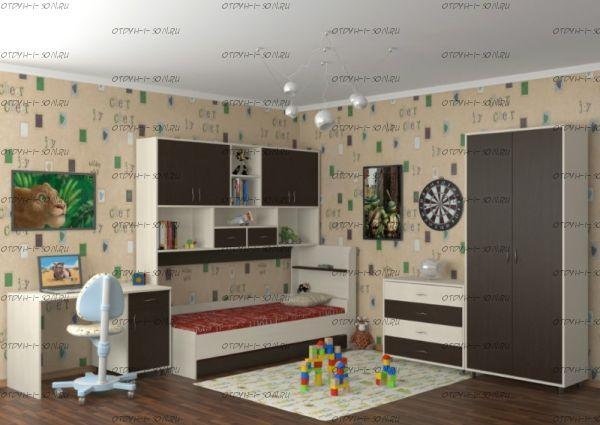Детская комната Дельта №4