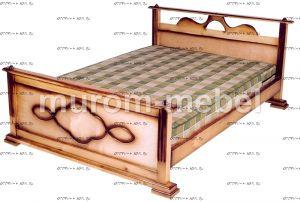 Кровать Оксана