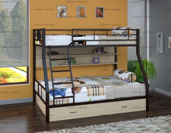 Кровать двухъярусная Гранада-1 ПЯ