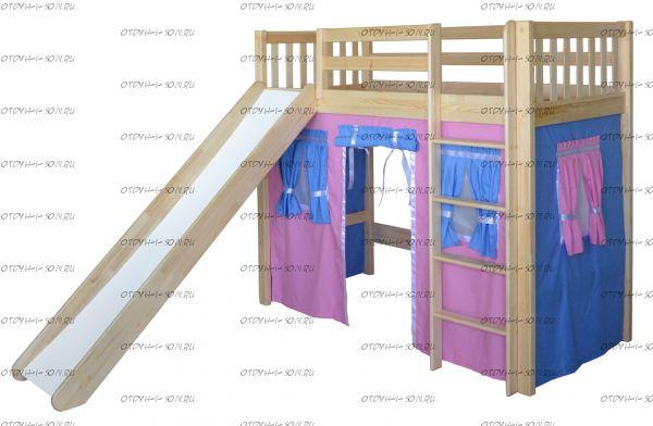 Кровать-чердак Трубадур-3 (Шалаш-3)