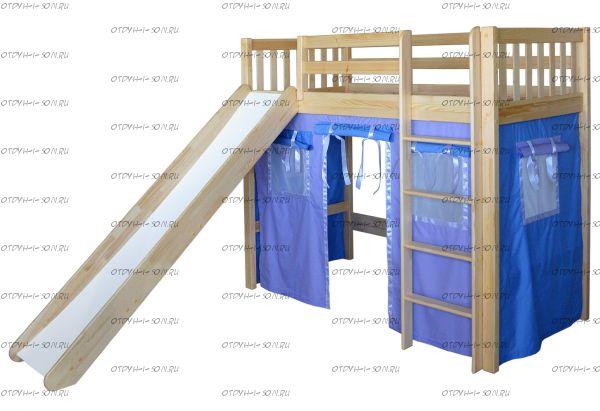 Кровать-чердак Трубадур-4 (Шалаш-4)