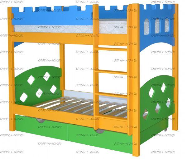 Кровать двухъярусная Ланцелот