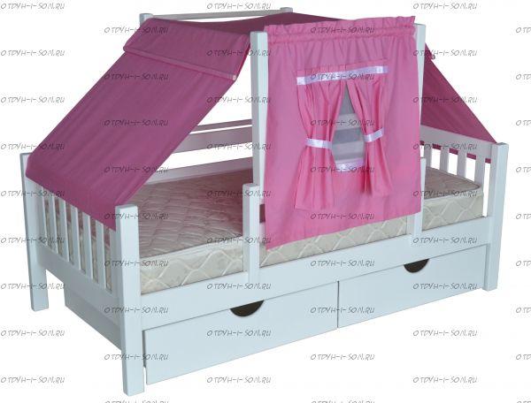Кровать Совушка (Роза)