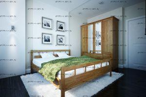 Кровать Троя Массив DreamLine