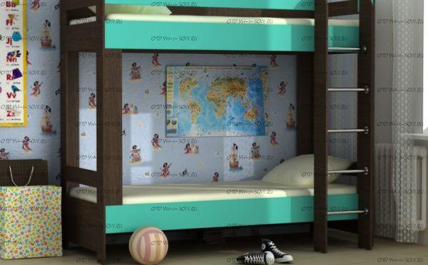 Кровать двухъярусная Карлсон Дуэт-4 (14.728)