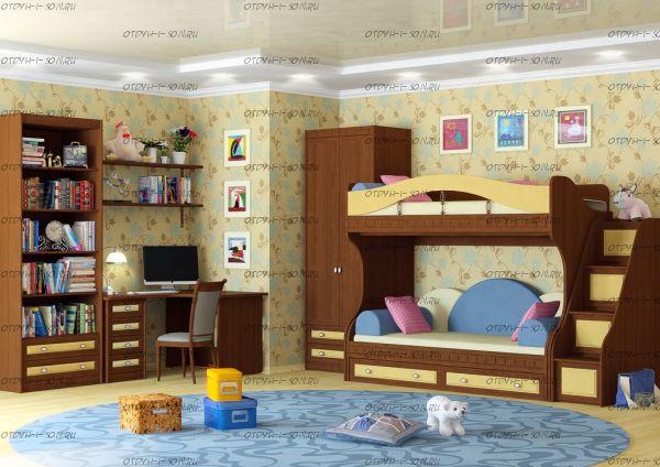 Детская комната Итальянские мотивы №6 МДФ