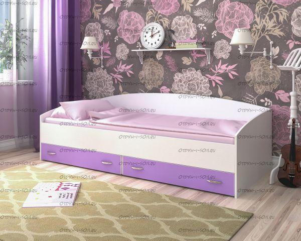 Кровать Малыш с ящиками (90х200)