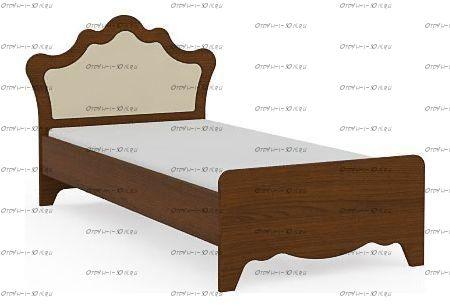 Кровать Итальянские мотивы б/о (51.106.03-04) МДФ