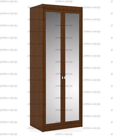 Шкаф двухстворчатый Итальянские мотивы (51.202.03) МДФ, 85х58х228