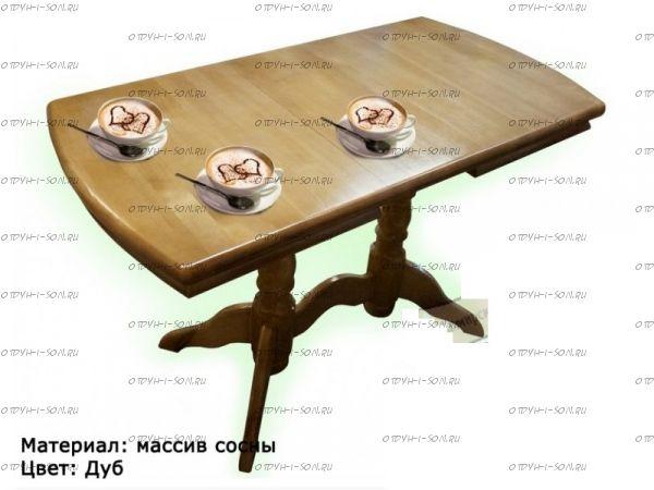 Стол обеденный раздвижной Бэйкер (ВМК Шале)