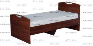 Кровать Людмила-9 с основанием (Детская)
