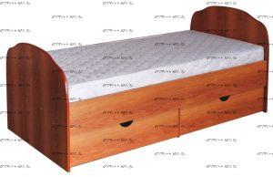 Кровать Людмила-10 с основанием (Детская)