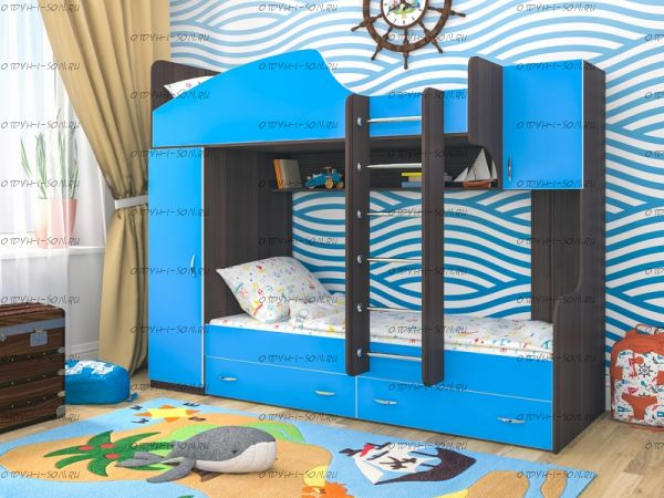 Кровать двухъярусная Юниор-2