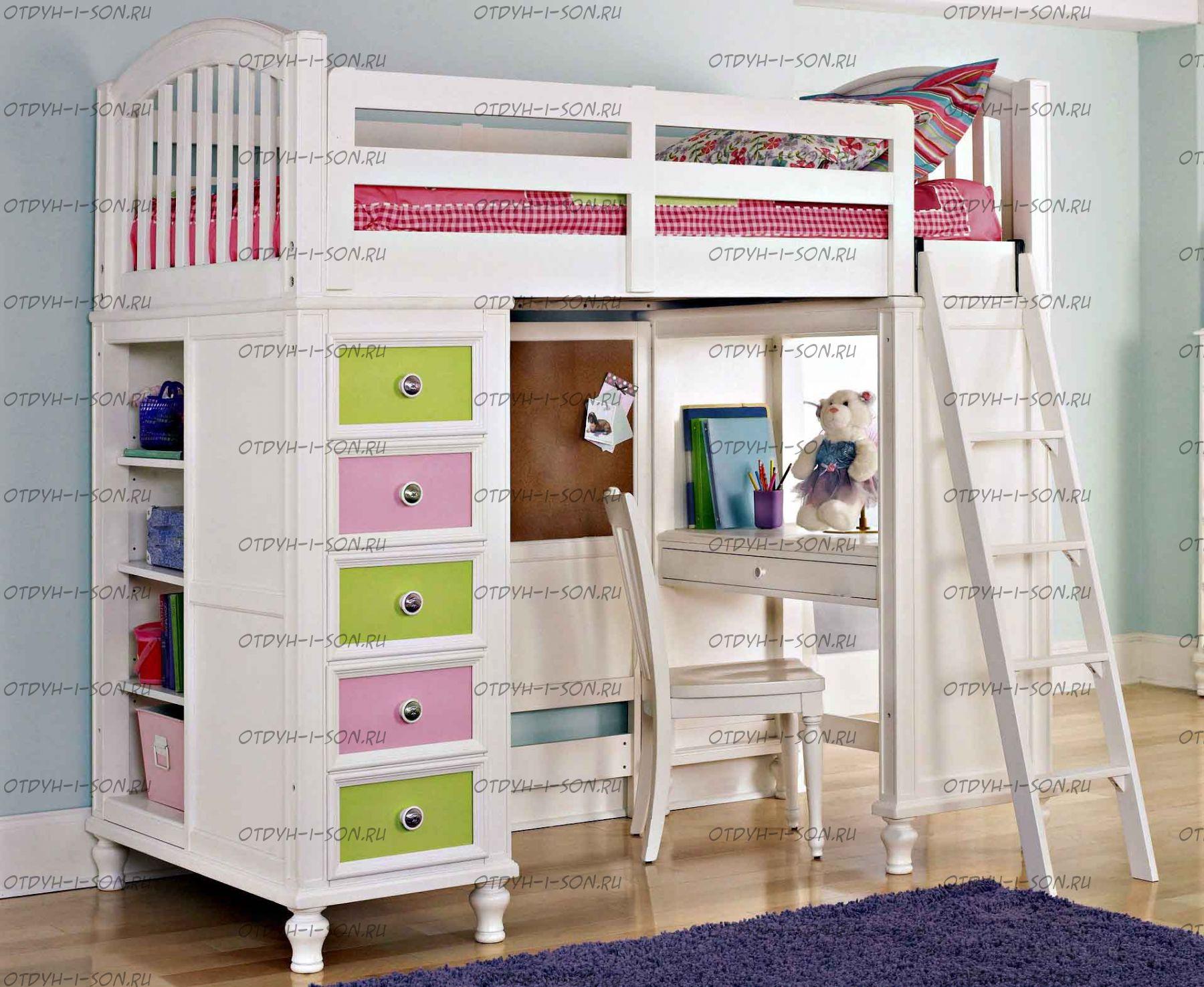 Сделать кровать домик 184