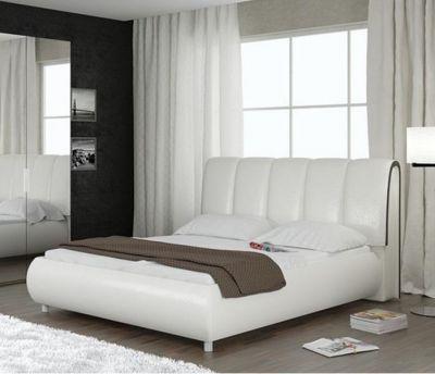 Кровати из экокожи (мягкие)