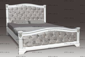 Кровать Азалия со стразами