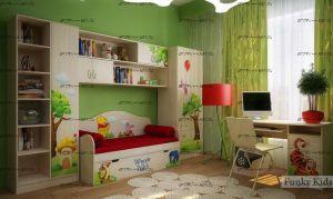 Детская комната Винни Пух №2