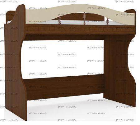 Кровать-чердак Итальянские мотивы с лестницей МДФ