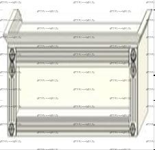 Антресоль открытой нишей Ферсия, мод. 35 ЛДСП