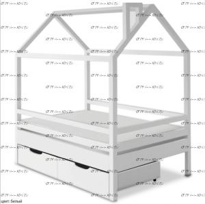 Кровать-домик Санни №1