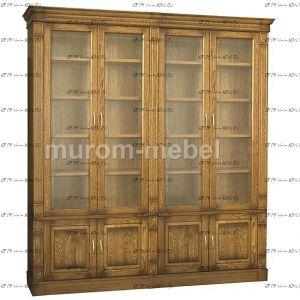 Шкаф-витрина 4-дверный Флоренция