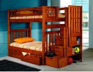 Кровать двухъярусная Артек с высокими верхними бортиками